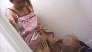 Naked apron MILF, Free JAV sex video of Jukujo Club