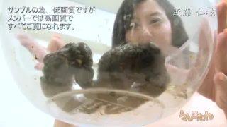 近藤仁枝35歳巨乳人妻のウンチ姿、うんこたれの無料エロ動画(無修正)