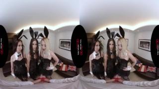 無修正VRエロ動画バニーゲーム、バーチャルリアルポルノの無料動画