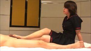素人まどかちゃんの凄まじい足コキ Tokyo-Hotの無修正動画