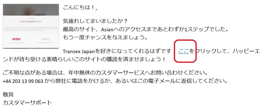 トランスセックスジャパンにお得な割引料金で入会する方法2